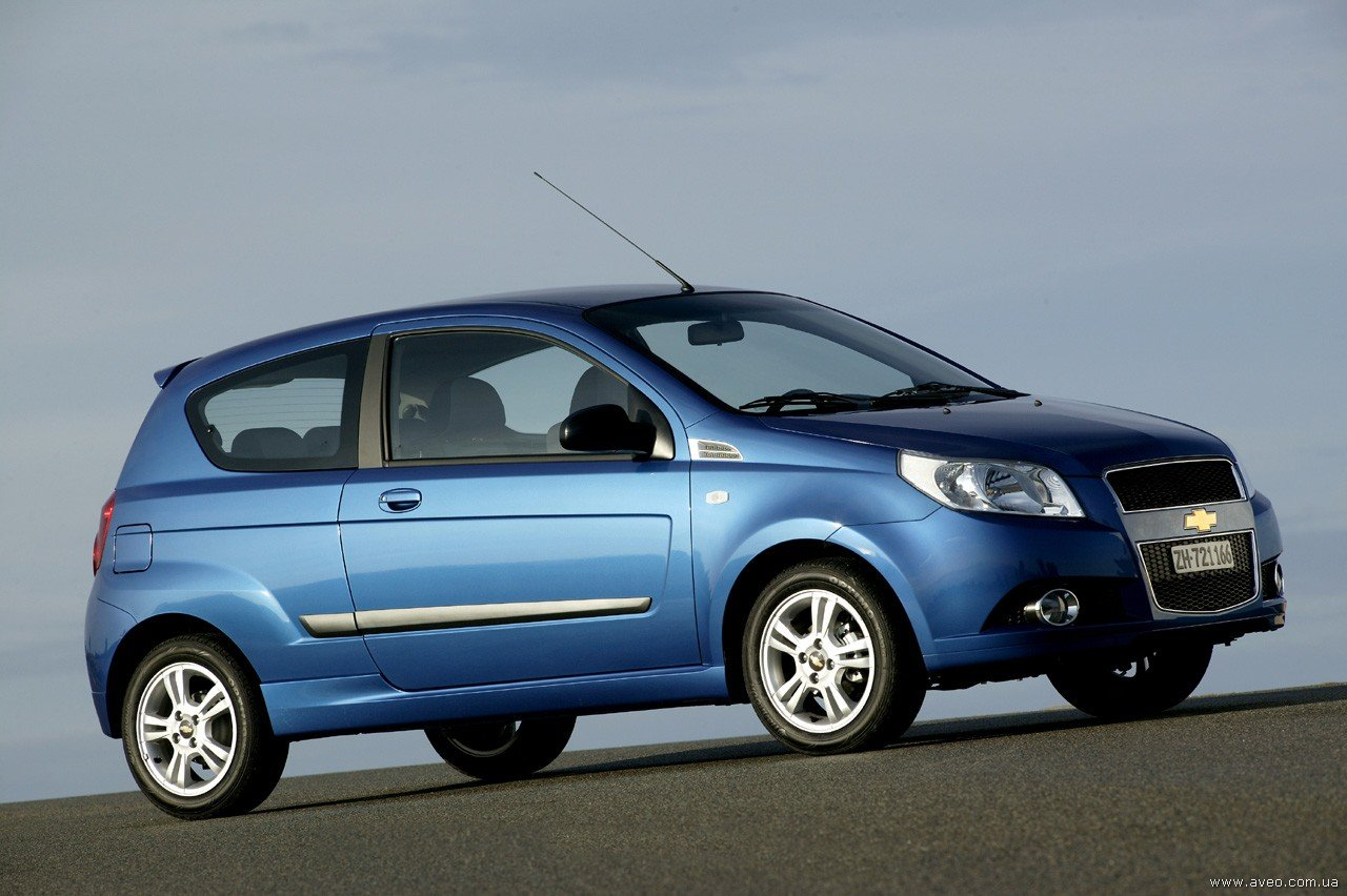 Фотографии нового 3х дверного Chevrolet Aveo 2008