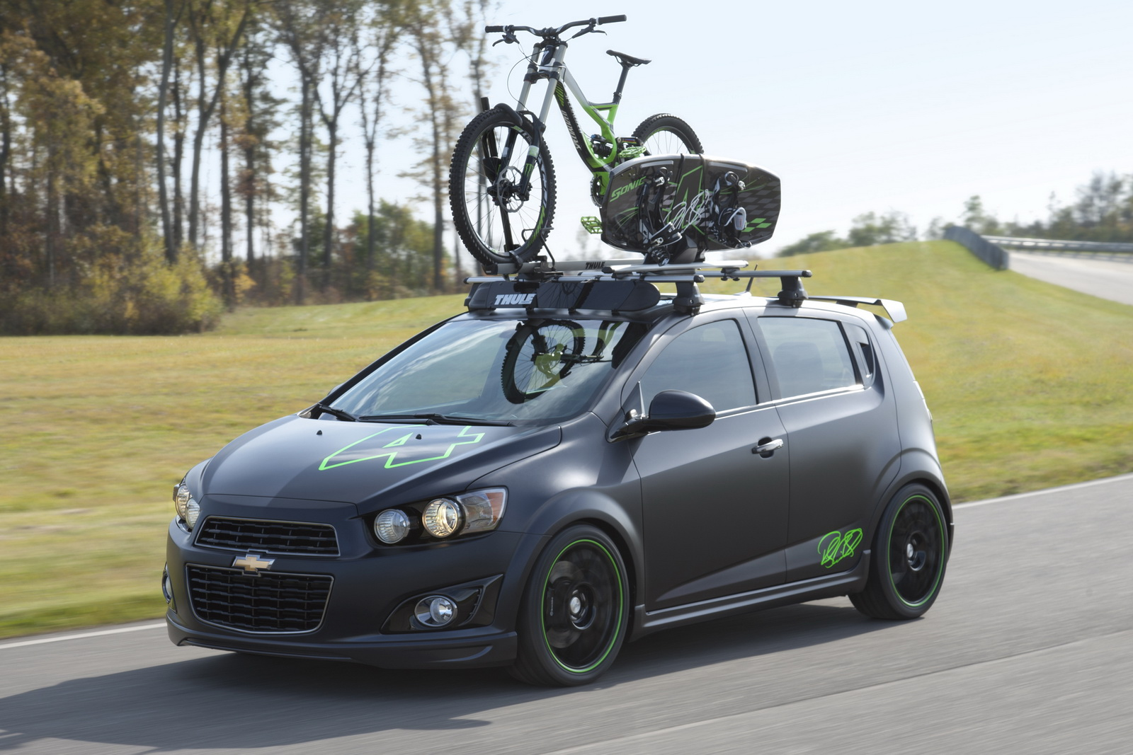 Chevrolet Sonic All Activity Vehicle