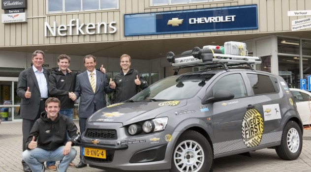 Chevrolet Aveo's FIRST Mongol Rally